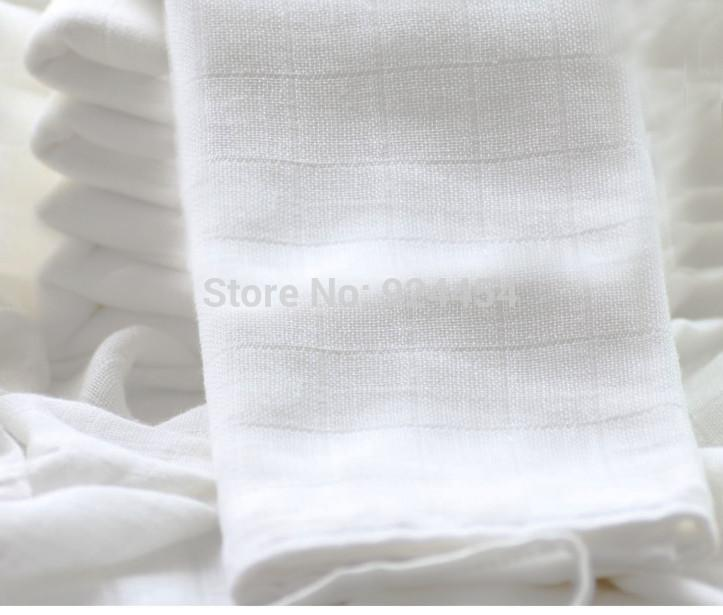100% Cotton Baby Gauze Diapers For Newborn Baby Nappy Changing 60 x 50cm Washable Soft Baby Towels