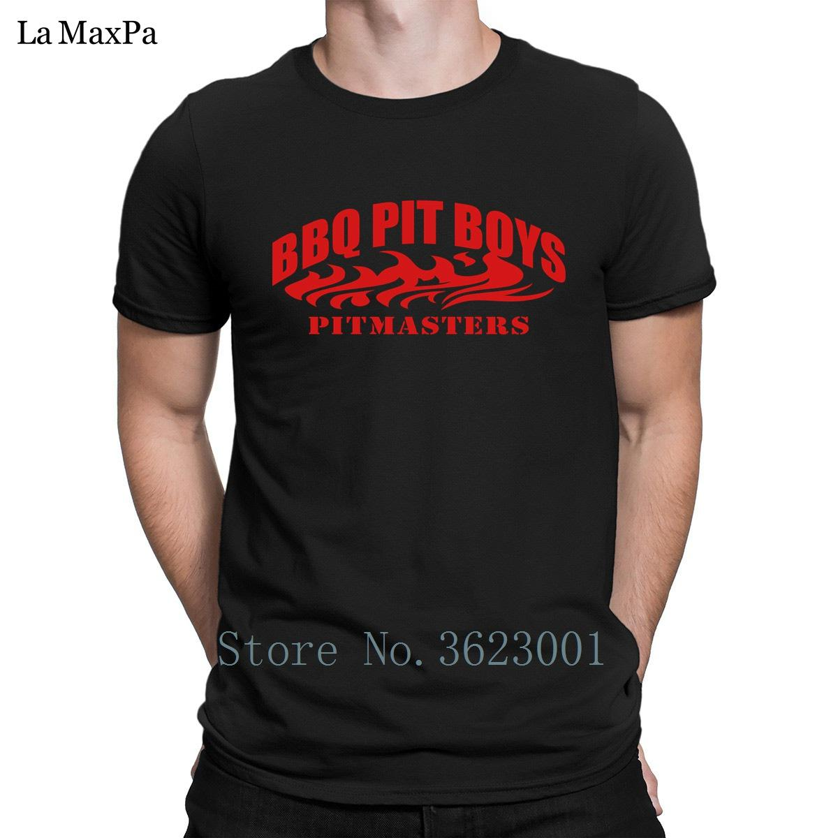 Design New Fashion T Shirt Bbq Pit Boys Pitmasters Men Tee Shirt Clothes  T-Shirt For Men Unique Tshirt Man Round Collar Fitness