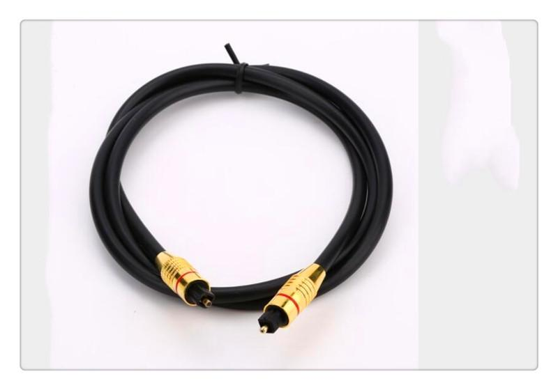 OD6.0mm High quality Optical Toslink Cable Optical Fiber Audio Cable Digital Audio toslink cable 1M 1.5M 2M 3M 5M 7M 10M-30M