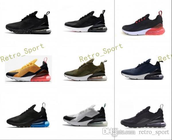 sports shoes 4f5c9 d8fbe Compre Nuevo 270 Teal Zapatillas De Running Azul Marino Para Hombre Flair Zapato  Deportivo Triple Negro Entrenador Mediano Oliva Bruce Lee Para Mujer 270s  ...