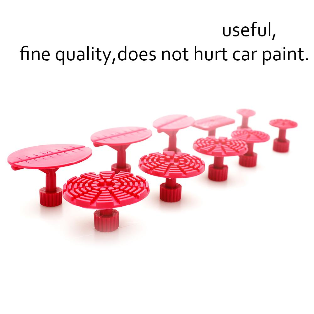 100 unids Auto PDR Tool kit Plástico Pegamento Tabs Puller Tabs Para Coche Dent Paintless Repair Auto Body Dent Remoción Herramienta de Mano