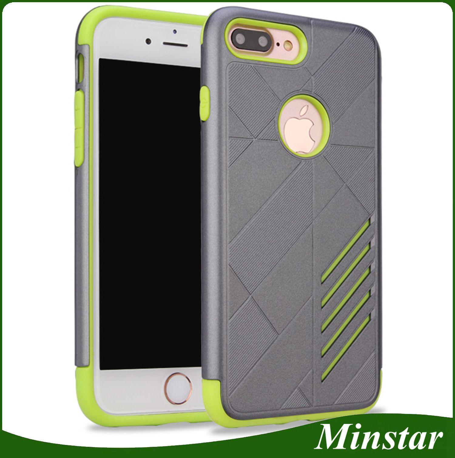 hot sale online 744df 8589b For Alcatel Pixi 4 5.5 6.0 Inch 2in1 Hybrid Armor Cover Stellar Tru Fierce  4 Caseology Cheap Phone Case 50PCS/Color