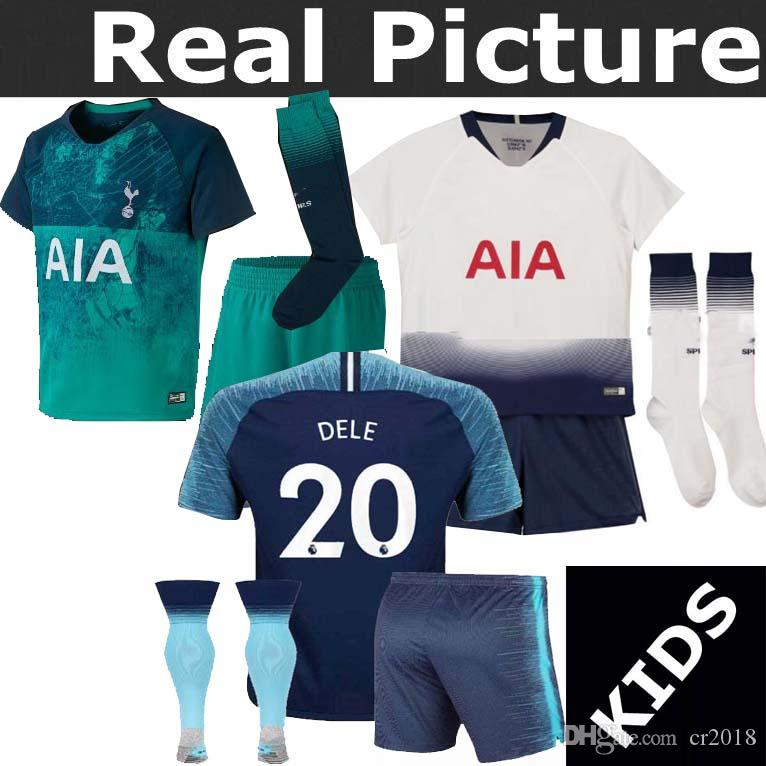 New Spurs KANE Spurs Soccer Jersey 2018 2019 LAMELA ERIKSEN DELE SON ... 9bd7b8a2b
