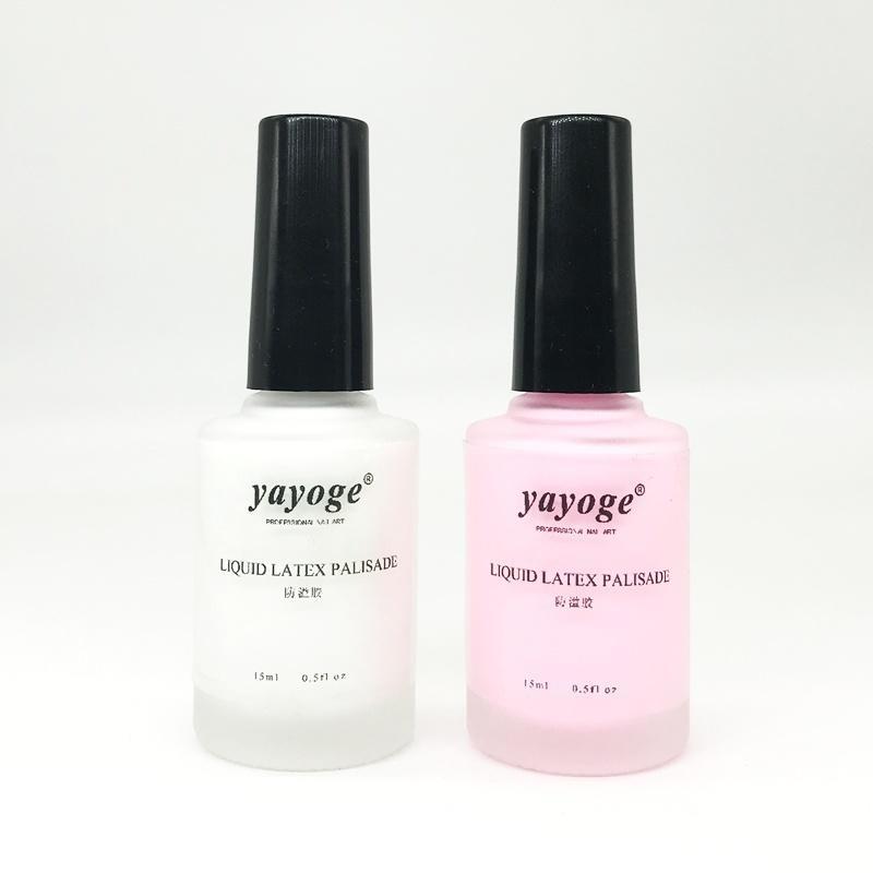 Yayoge 15ml Peel Off Nail Liquid Palisade Latex Tape Base Coat Skin