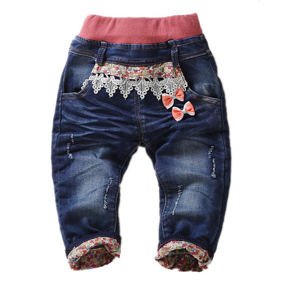 7d499974ce Pantalones para bebés Pantalones vaqueros para niñas bebés Pantalones de  mezclilla suave Kawaii Gato Animal Ropa para bebés Ropa para niños pequeños  Bebe ...