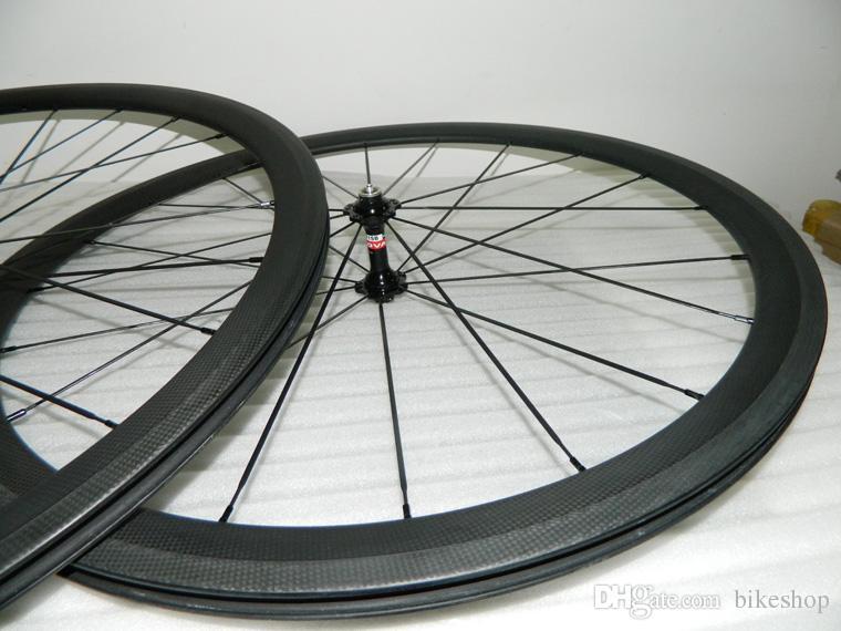 carbon wheelset bikes 700c 38mm OEM carbon clincher wheels for road bicycle wheel novatec hubs 23mm wide road rims carbon bike