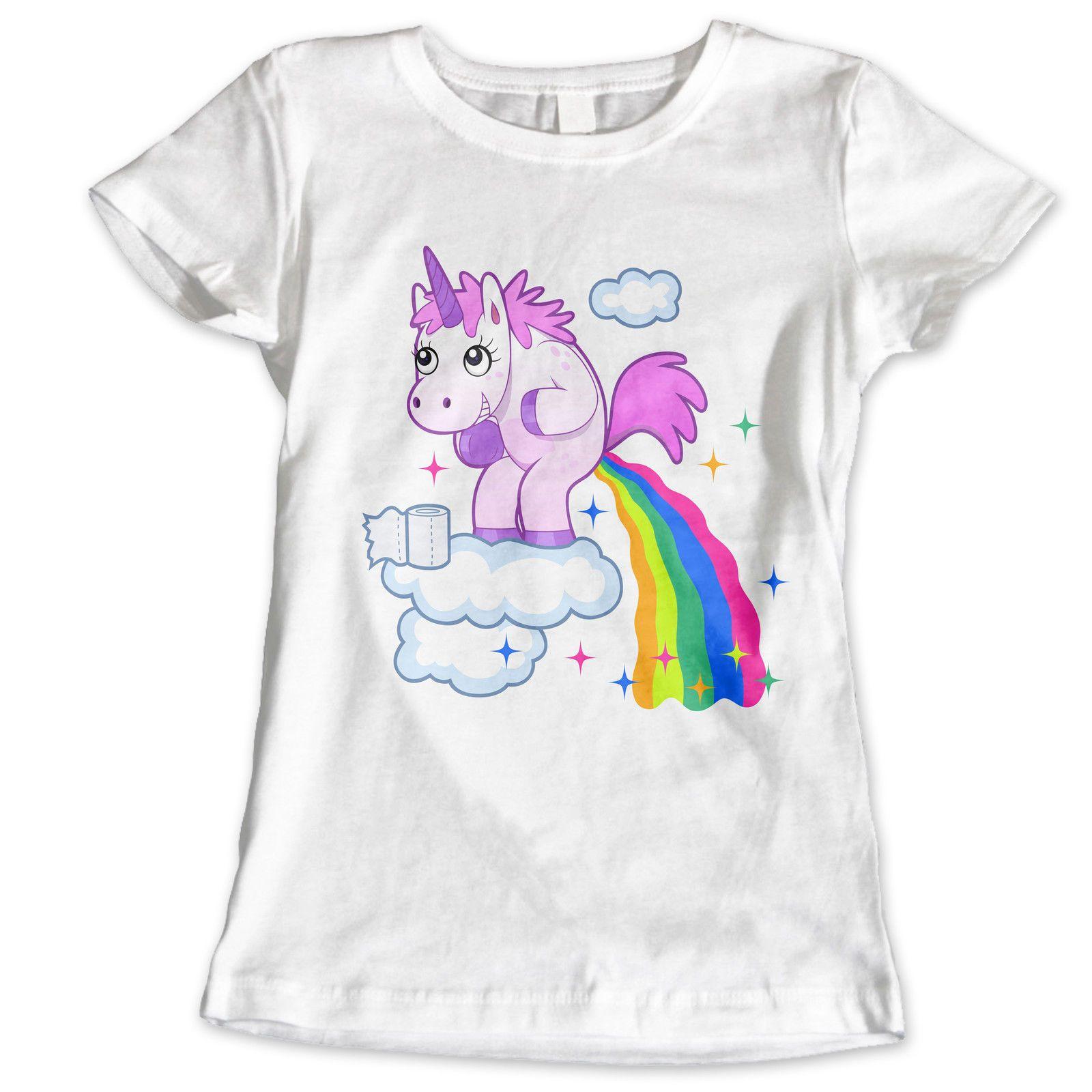 4d7f8a1ce190c Women s Tee Girls Womans Unicorn Celebrity Girly Princess Tumblr Fashion  Paris T Shirt Womens Tops Fashion Design 100% Cotone T-shirt S - Xl