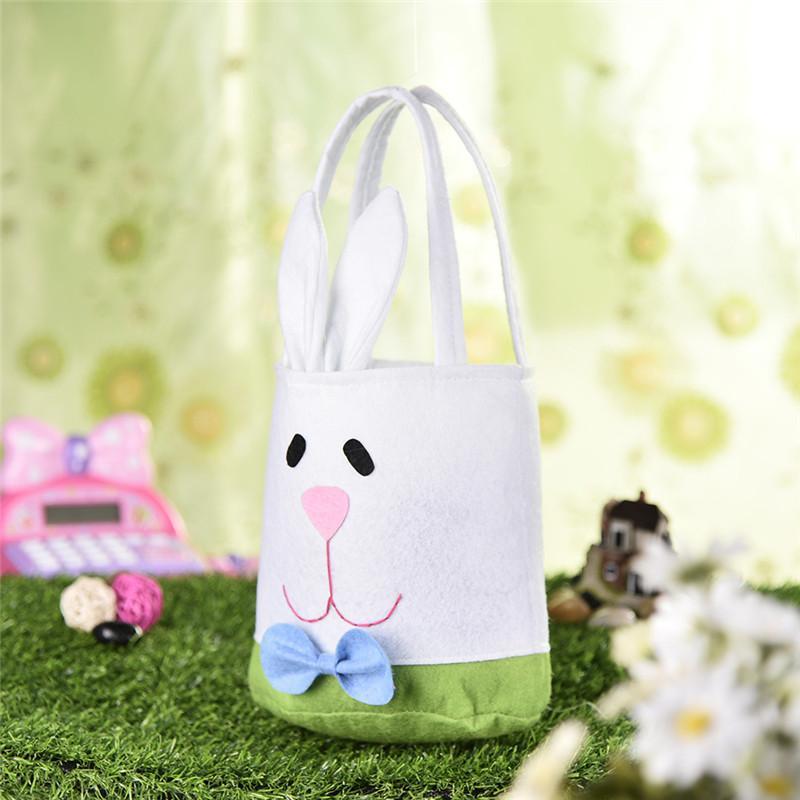 عيد الفصح الأرنب الحلوى كيس لطيف أرنب الدجاج كوكي هدية أكياس البسكويت وجبة خفيفة الخبز حزمة ل حفل زفاف الرباط هدية حقيبة
