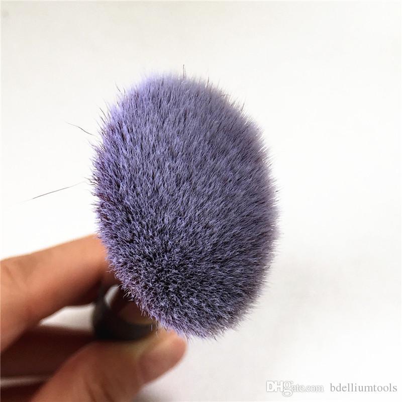 헤븐리 럭스 완드 볼 파우더 브러쉬 # 8 앵글드 래디언스 브러쉬 # 10 테이퍼 드 소프트 헤어 페이스 브러쉬 - Beauty Makeup Brushes Blender