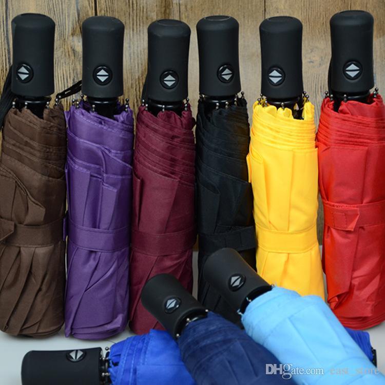 4e7e27501 2018 New Big Strong Fashion Windproof Men Gentle Folding Compact ...