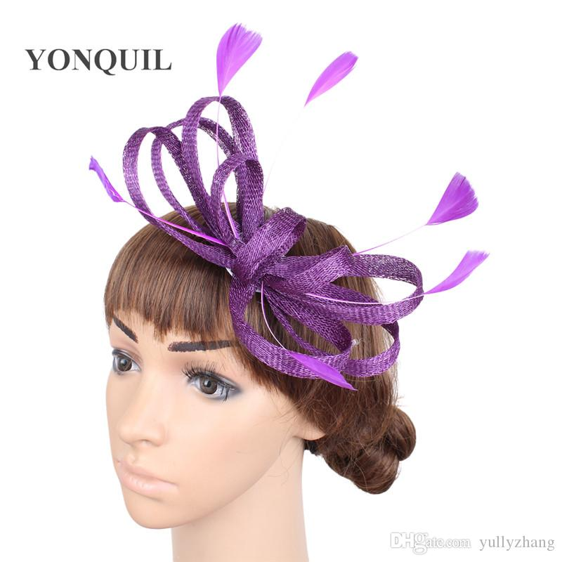 7ed899da5f4 Cheap Sinamay Big Wedding Hats Wholesale Fascinator Hats for Weddings