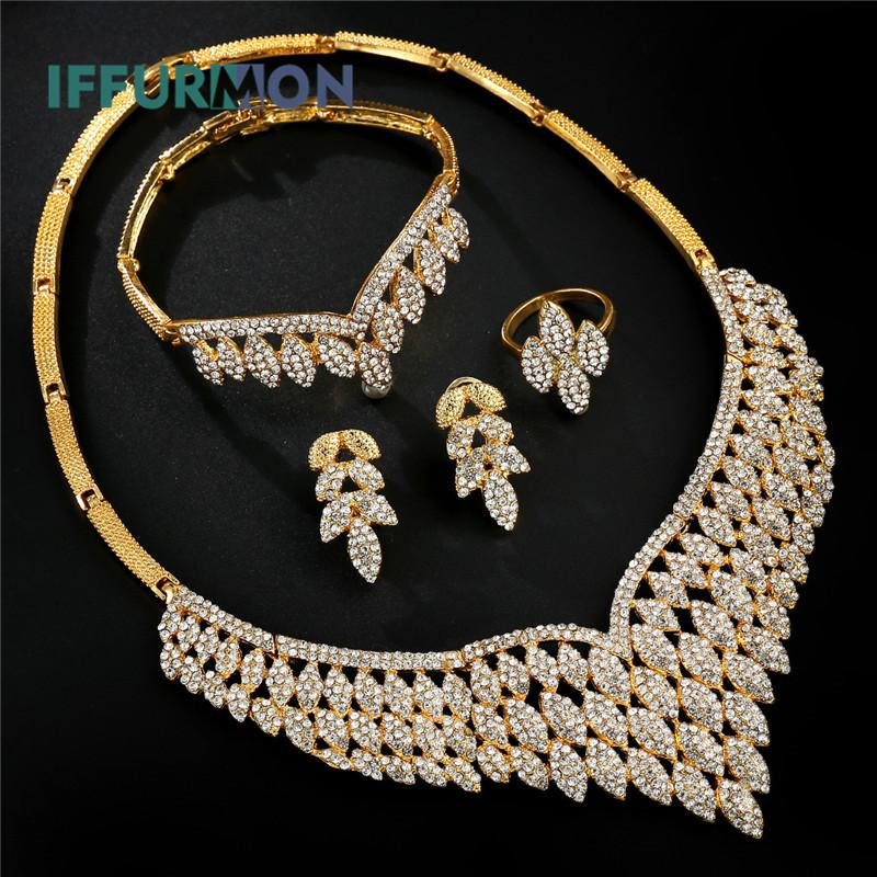 5e954d3b8624a Indian Bridal Jewelry Sets Gold