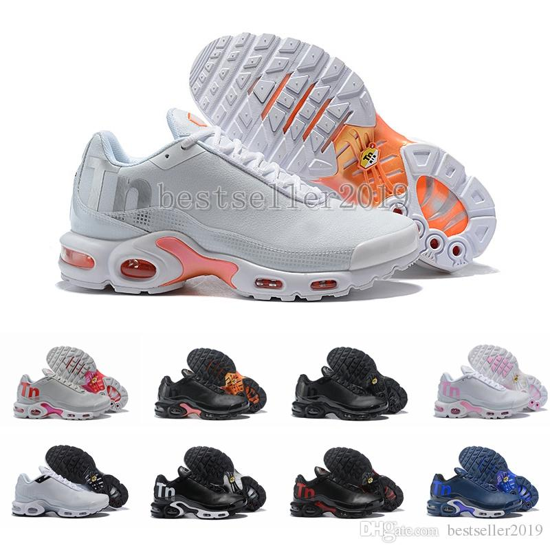dcf4b549ea796 2018 New Mercuial TN Plus 2 Running Shoes Chaussures Tns Leather ...