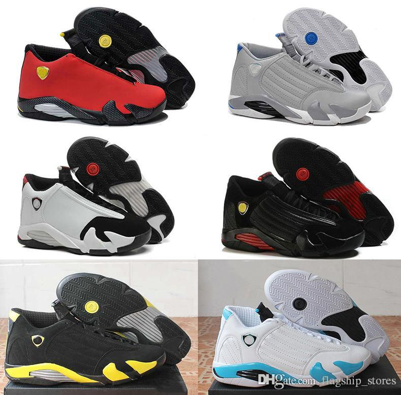 68a200a2b43348 14 XIV Oxidized Green Indiglo Thunder Playoffs Black Toe Red Suede 14s Men  Basketball Shoes Sneaker Last Shot Sport Shoes 41 47 Sneakers For Women  Shoes ...