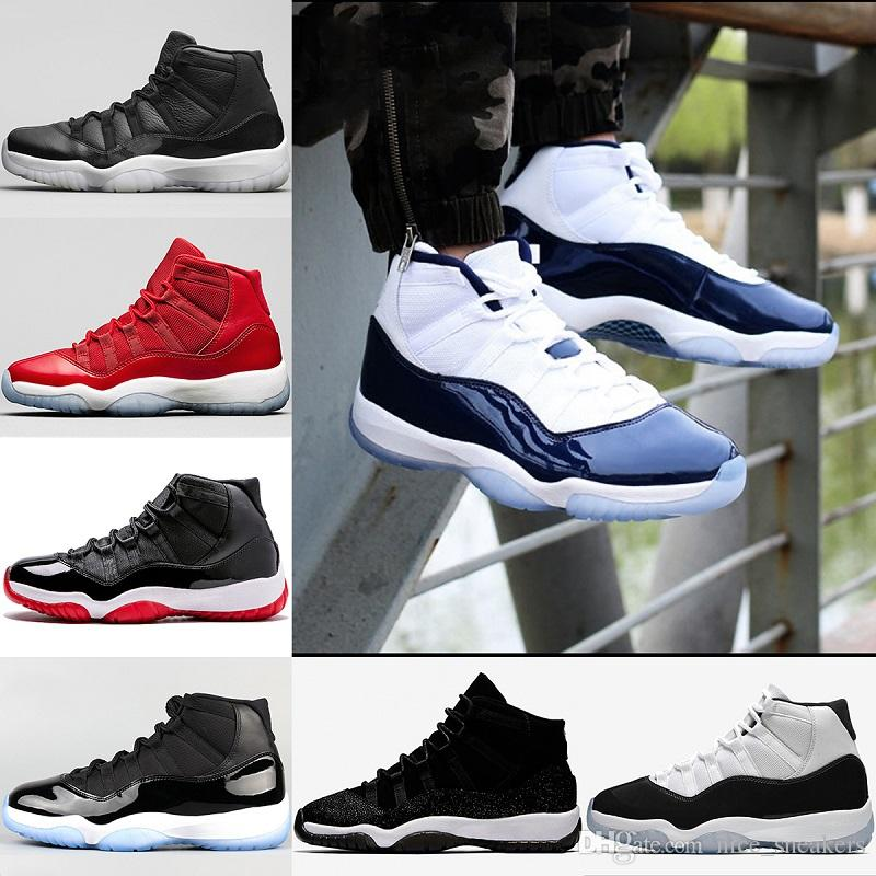 db07d76451d328 Mens Women 11 Iridescent Easter 2018 Basketball Shoes Unc Blue Gym Red  Space Jam 45 Concord Bred Barons Sports Sneakers Size 36 47 Basket Ball  Shoes Barkley ...