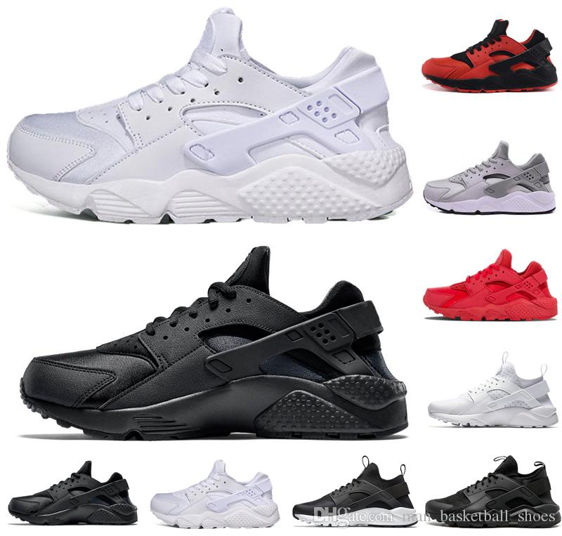 5178547c9d7f Triple White Black Huarache 4.0 1.0 Running Shoes Classical Red Rose Gold  Men Women Huarache Shoes Huaraches Trainer Sports Sneakers 36 45 Shop Shoes  Men ...
