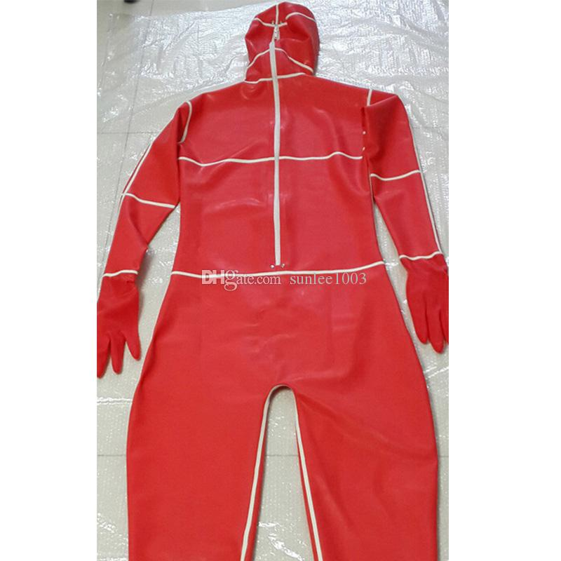 2018 New hot exotic handmade female women Sexy Latex Catsuits full Cover Suit Fetish Uniform tight cekc lingerie Costumes