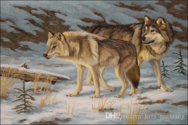 Горный хрусталь полный квадратный алмазы вышивка животных волк diy Алмаз живопись вышивки крестом kit главная мозаика украшения zxh0509