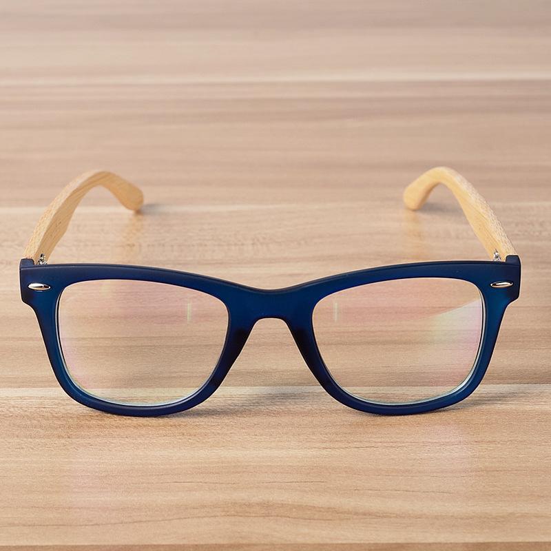 7416c5b6557 2018 New Unisex Wooden Solid Gafas Eyeglasses Hot Bamboo And Wood Flat  Mirror Foot Myopic Glasses Frame Decorative Goggles Eyewear Frames Cheap  Eyewear ...