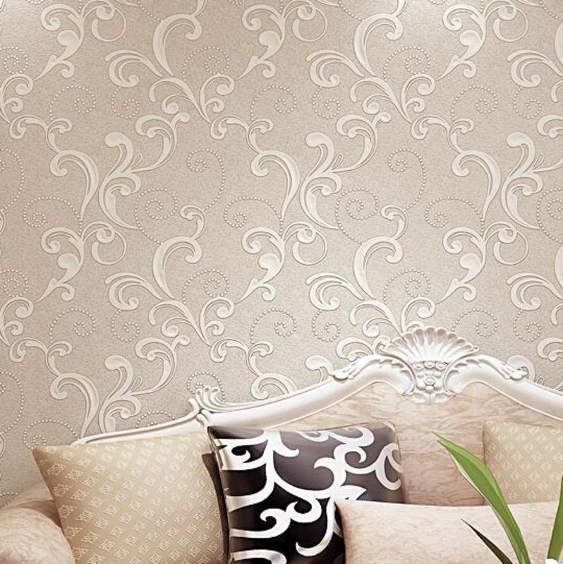 Carta Da Parati Mimetica.Acquista Kalameng Luxury Velvet Victorian Background Carte Da Parati