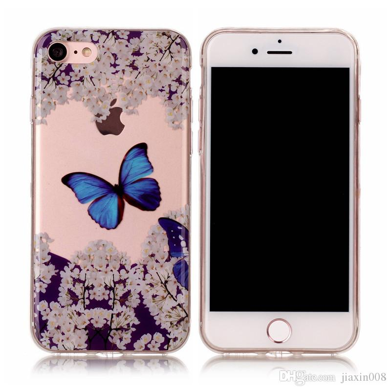 fashion soft tpu case for iphone 7 iphone 8 cover newest transparentfashion soft tpu case for iphone 7 iphone 8 cover newest transparent painting soft silicone mobile phone cases for iphone 6 6s designer phone cases best