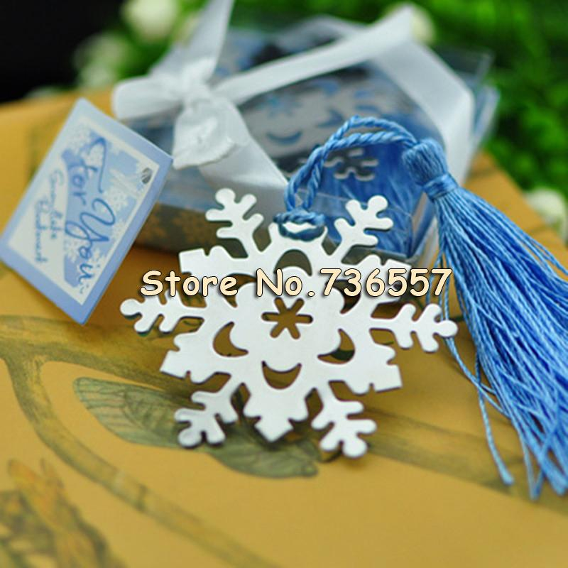 2018 New Lovely Exquisite Wedding Gifts Snowflake Monolithic Metal