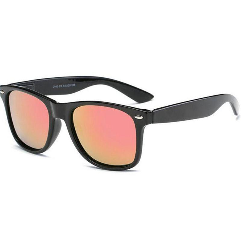064b6c05bc Compre Gafas De Sol De Moda Hombres Gafas De Sol Polarizadas Hombres Espejos  De Conducción Puntos De Recubrimiento Gafas De Montura Negra Gafas De Sol  ...