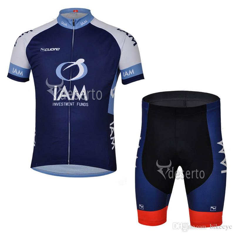 IAM KATUSHA Team Cycling Short Sleeves Jersey Bib Shorts Sets Mens  Breathable Bicycle Thin Mountain Bike Sportwear New C1522 IAM Cycling  Jersey Cycling ... ec2c98d22