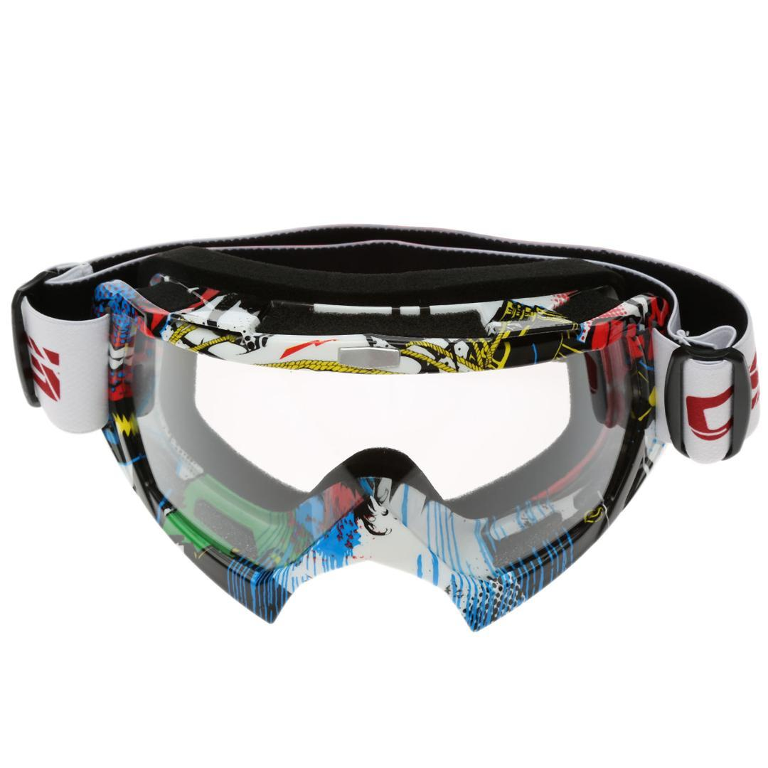 d2f6429b1a Vintage UV Protection Off Road Motocross Riding Glasses for ...