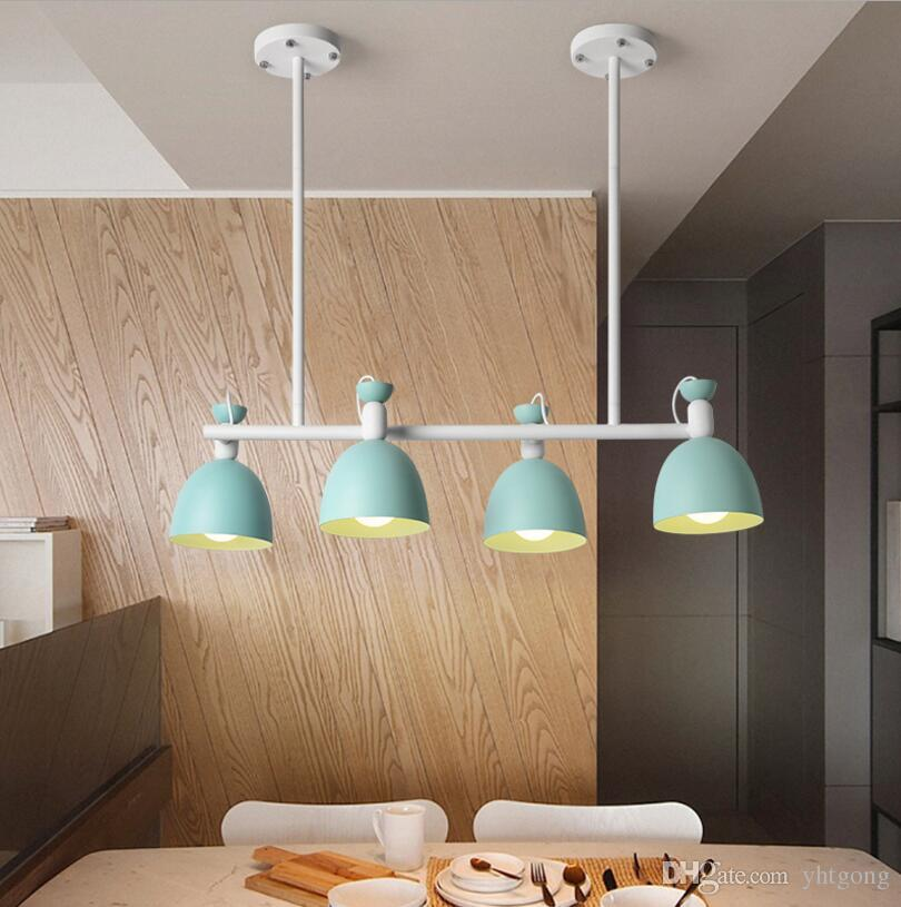 Acquista Lampade A Sospensione YHTGONG 220V LED Cucina Nordic Dining ...