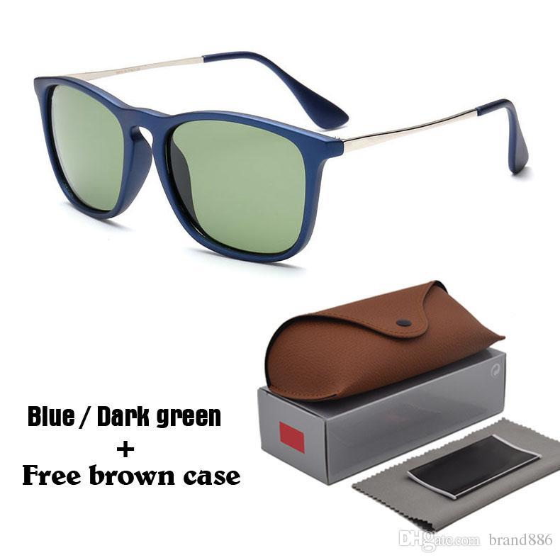 dd8d7b1e17132 Compre 2019 Nova Moda Rodada Óculos De Sol Dos Homens Das Mulheres Designer  De Marca Óculos Óculos Óculos De Sol Espelhado Uv400 Goggle Com Casos E  Caixa De ...