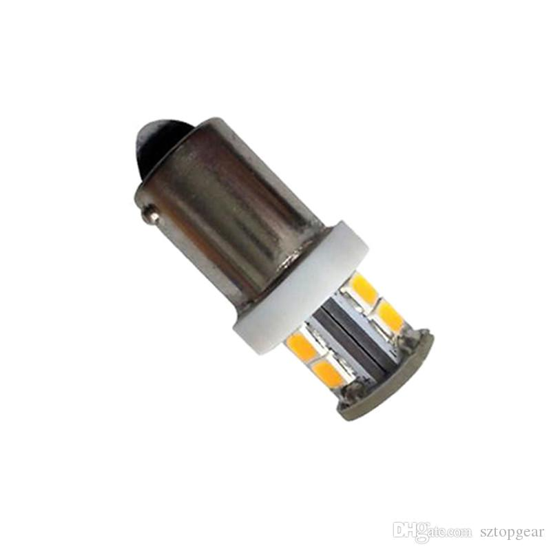 BA9S T4W Led Bulb SMD 2835 7 License Plate Lamp 12V Interior Reading Trunk Lights Car Warm White Car Styling