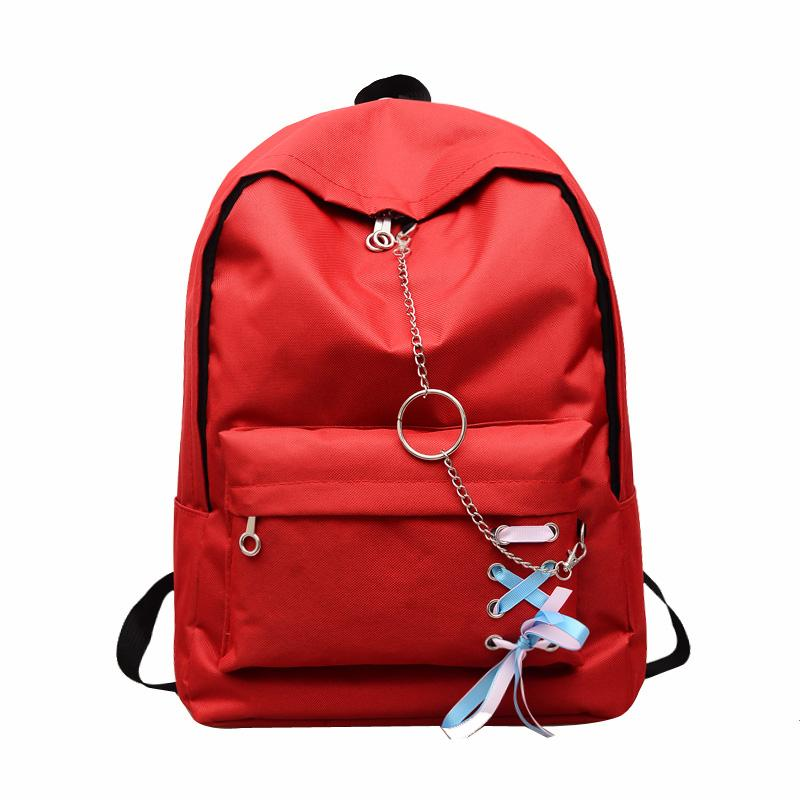 103d7732f6 Women Preppy Style Big Backpack Women Student Big Bag Backpack Nylon Bag 17  25 Girls High Quality Rolling Backpack Toddler Backpacks From ...