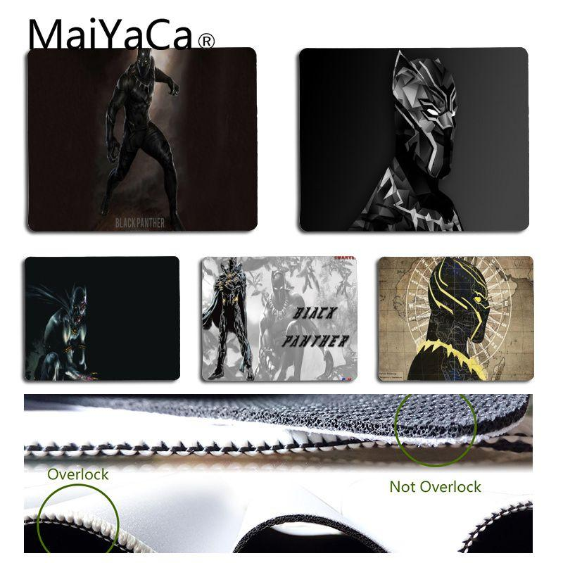 MaiYaCa My Favorite Marvel Black Panther Mouse pad PC Computer mat Free Shipping Large Mouse Pad Keyboards Mat