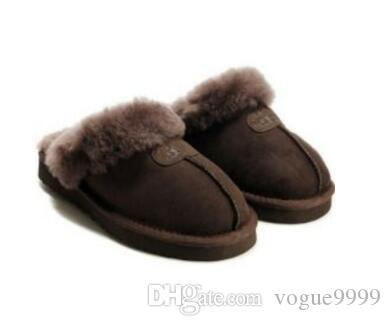 cf7cb0bfdc0 High quality Australia UGG Warm cotton slippers Men And Womens slippers  Short Boots Women s boots Snow boots slippers Leather boot