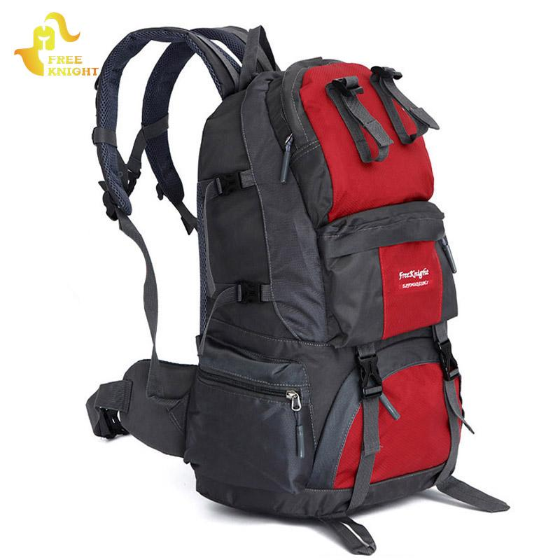 7fc2ac0eae Free Knight 50 L Sports Bag Big Capacity Outdoor Hiking Backpacks Camping  Bags Mountaineering Hunting Travel Backpack Women Men Tool Backpack Best  Laptop ...