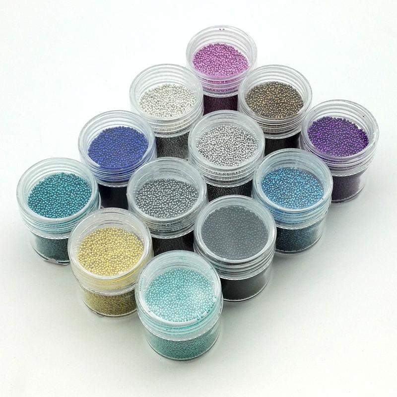 10gbox 06mm08mm Mini Nail Art Caviar Beads Micro Caviar Nails