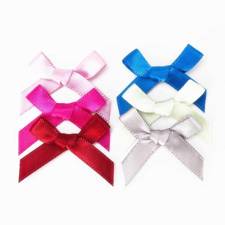 Dhl Small Satin Ribbon Bows Tiny Bow Tie For Diy Tiny Fabric