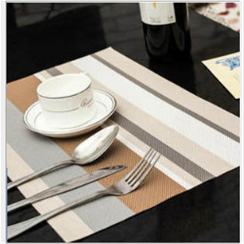 Cheap Diy Wooden Table Best Romantic Table Setting & Dining Table Mat Pvc Placemat Waterproof Heat Insulation Silicone ...