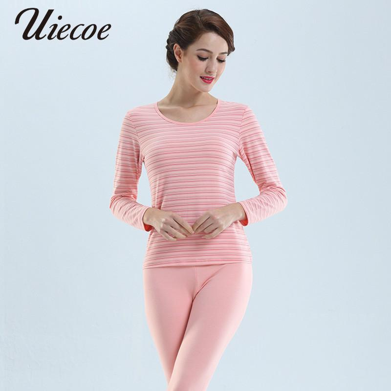 e8b44f2c2ce 2019 UIECOE Long Johns For Women Winter Thermal Underwear Suit Thin Cotton  Ladies Thermal Underwear Female Clothing 2019 Plus Size From Sweatcloth