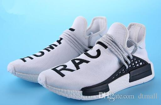 d7dfead09 2019 2018 Hot Human Race Pharrell Williams Hu Trail NERD Men Womens Running  Shoes NMD XR1 R1 Sports Shoes Size US5 US11.5 From Dtmall