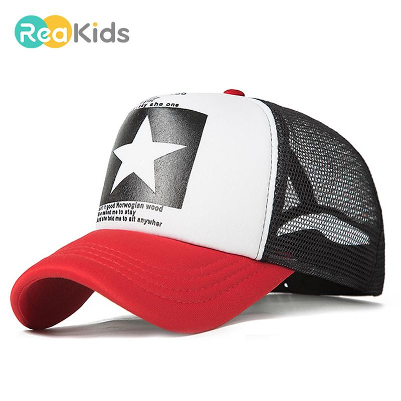 REAKIDS Kids Letter Cool Style Baseball Cap Children Boy Girls Baby Summer  Hip Hop Hat   Kids Letter Cool Style Baseball Cap Boy Girls Baby Summer Hip  Hop ... 87d9fbfd386d