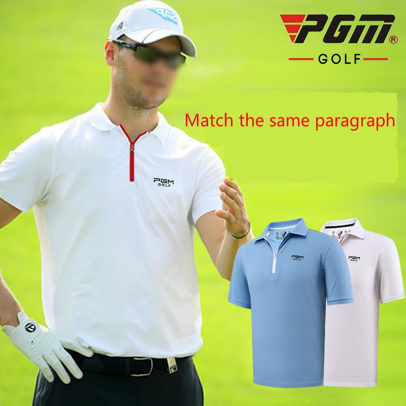 54d9c70c9b4 2019 Golf Shirt Men S Short Sleeved T Shirt In Summer Fast Dry Clothing  Match From Vanilla12