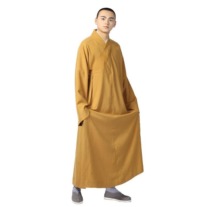 79902851c7 Buddhist monk robes uniform zen clothing shaolin monk clothes buddhist  costume TA530