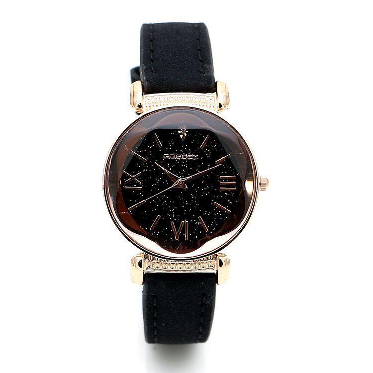 28bb42a88c85 Compre 2018 Nueva Moda Gogoey Marca De Relojes De Cuero De Oro Rosa De Las  Señoras De Las Mujeres Vestido Casual Reloj De Pulsera De Cuarzo Reloj De  Mujer A ...