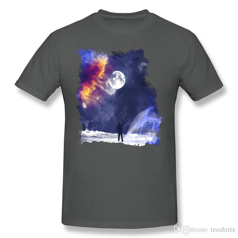 Tee shirt Homme 100% coton à la fin du monde Homme T-shirts à manches courtes pour hommes avec T-shirt pour hommes