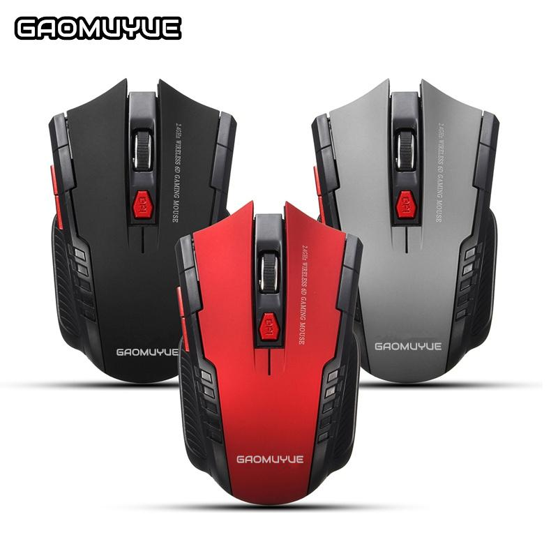 W4 2.4ghz Wireless Mice Gaming Mouse Usb Optical Mouse Gamer Professional Game Mouse For Pc Gaming Laptops Online Shop Computer & Office