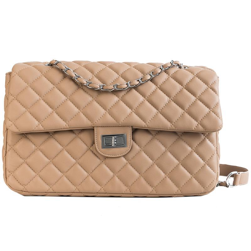 18c5c51a71 Women Plaid Famous Brand Designer Large Shoulder Bag Luxury Chain ...