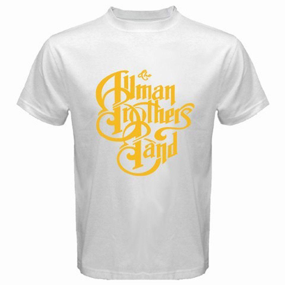 c05a9e40 ... THE ALLMAN BROTHERS Band Rock Blues Icon Logo T Shirt Buy Online T