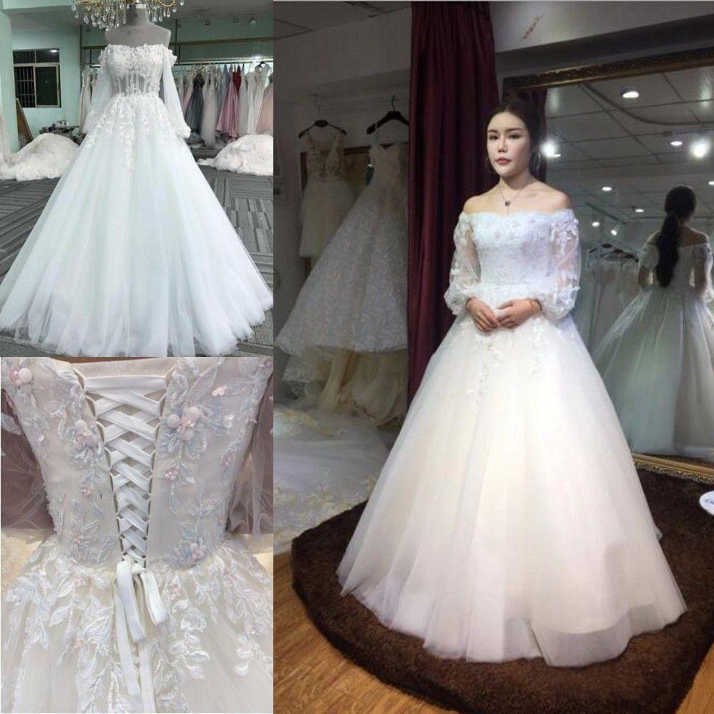 Latest Fashion Wedding Gowns: Discount Pleated Wedding Dresse Simple Latest Fashion